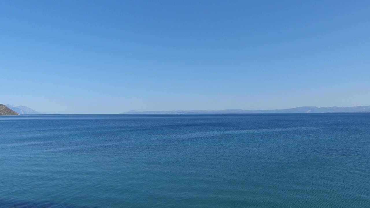 Calm Blue Sea  Footage Free Download  Travel Videos